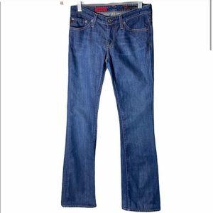 Adriano Goldschmied Women Dark Wash Bootcut Jeans